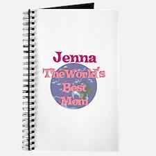 Jenna - World's Best Mom Journal