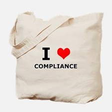 I (heart) Compliance Tote Bag