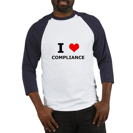 I (heart) Compliance Baseball Jersey