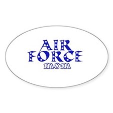 Air Force Mom Oval Decal