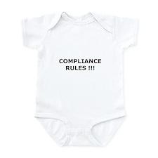 Compliance Rules Infant Bodysuit