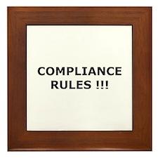 Compliance Rules Framed Tile