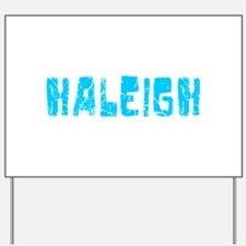 Haleigh Faded (Blue) Yard Sign