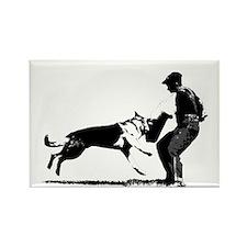 GSD Schutzhund Rectangle Magnet