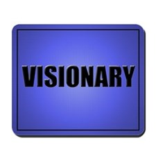 Visionary Mouse Pad-Blue