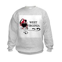 Heart West Virginia Sweatshirt