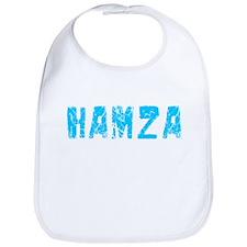 Hamza Faded (Blue) Bib