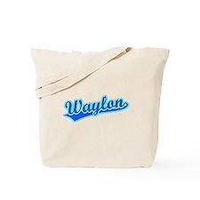 Retro Waylon (Blue) Tote Bag