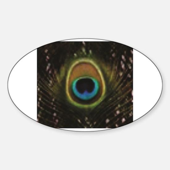 Cute Attack show Sticker (Oval)