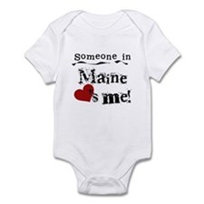 Someone in Maine Infant Bodysuit