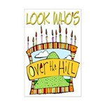 Look Who's Over The Hill Mini Poster Print