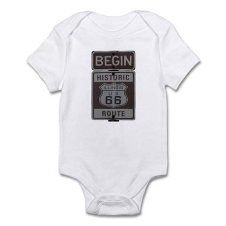 Route 66 Infant Bodysuit