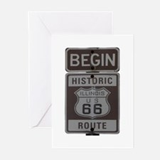 Route 66 Greeting Cards (Pk of 10)