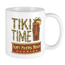 Tiki Time on Ft. Myers Beach - Mug
