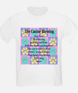 The Canine Blessing Kids T-Shirt