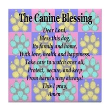 The Canine Blessing Tile Coaster