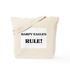 Harpy Eagles Rule Tote Bag