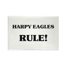 Harpy Eagles Rule Rectangle Magnet
