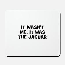 it wasn't me, it was the Jagu Mousepad
