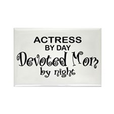 Actress Devoted Mom Rectangle Magnet