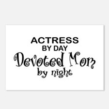 Actress Devoted Mom Postcards (Package of 8)