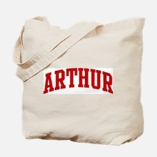 ARTHUR (red) Tote Bag