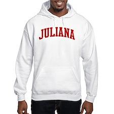 JULIANA (red) Hoodie Sweatshirt