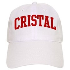 CRISTAL (red) Baseball Cap