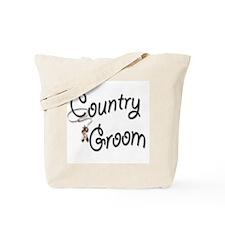 Cowboy Groom Tote Bag