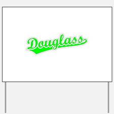 Retro Douglass (Green) Yard Sign