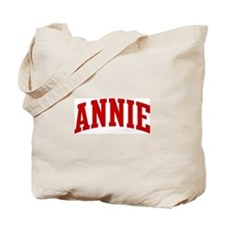 ANNIE (red) Tote Bag