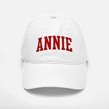 ANNIE (red) Baseball Baseball Cap