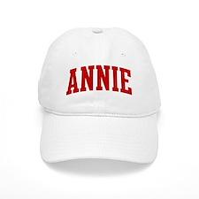 ANNIE (red) Cap