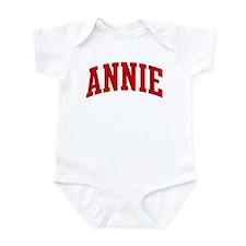 ANNIE (red) Onesie