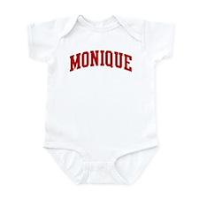 MONIQUE (red) Infant Bodysuit