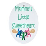 Mommy's Little Sweetheart Keepsake (Oval)