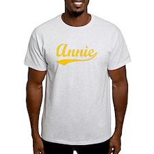Vintage Annie (Orange) T-Shirt