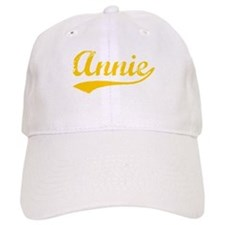 Vintage Annie (Orange) Baseball Cap