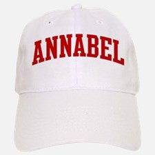 ANNABEL (red) Baseball Baseball Cap