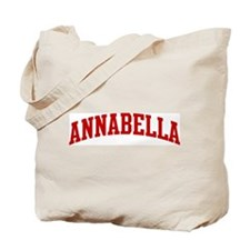 ANNABELLA (red) Tote Bag