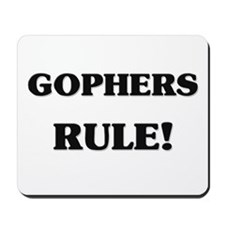 Gophers Rule Mousepad