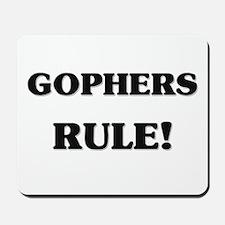 Gophers Rule Mousepad