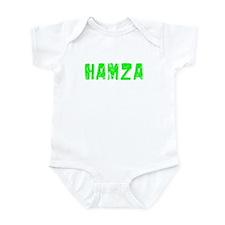 Hamza Faded (Green) Infant Bodysuit