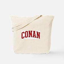 CONAN (red) Tote Bag