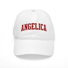 ANGELICA (red) Baseball Cap