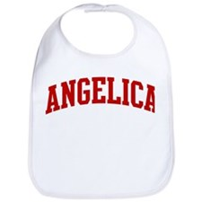 ANGELICA (red) Bib