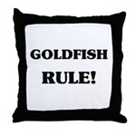 Goldfish Rule Throw Pillow