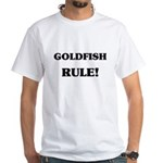 Goldfish Rule White T-Shirt