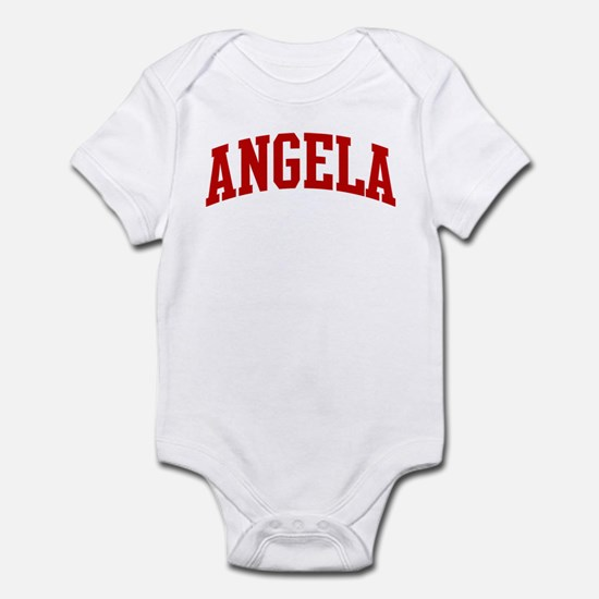 ANGELA (red) Infant Bodysuit