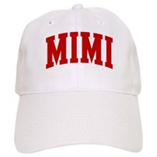 MIMI (red) Baseball Cap